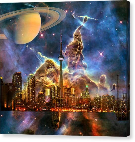 Star City Canvas Print