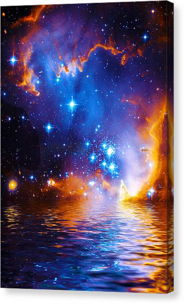 Stars As Diamonds Canvas Print