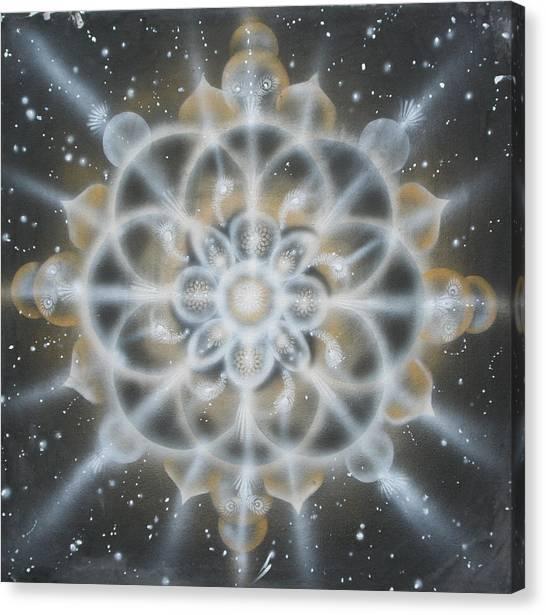 Star Canvas Print by Elizabeth Zaikowski
