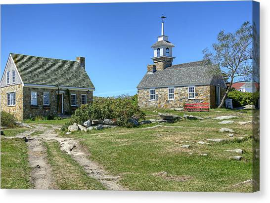 Star Island Village Canvas Print