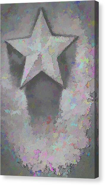 Canvas Print featuring the photograph Star by Kristi Swift