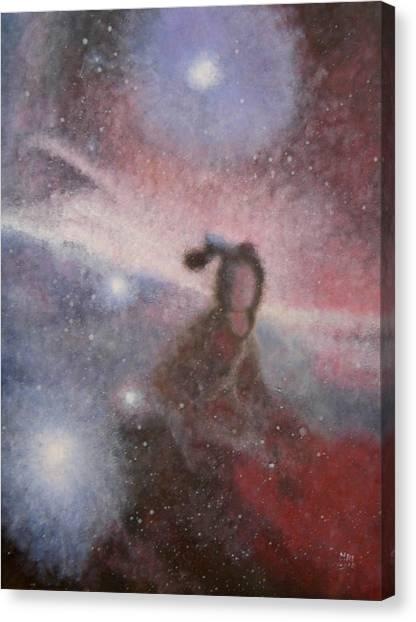 Star Lady Canvas Print