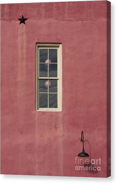 Star-light Window Canvas Print