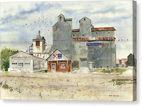 Star Mill Canvas Print
