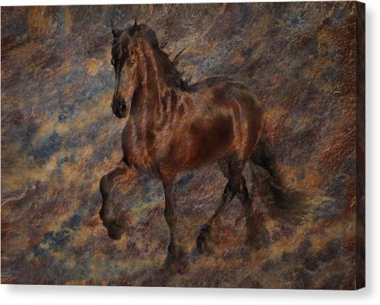 Canvas Print featuring the photograph Star Of The Show by Melinda Hughes-Berland