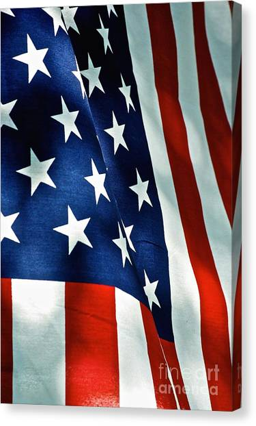 Star-spangled Banner Canvas Print