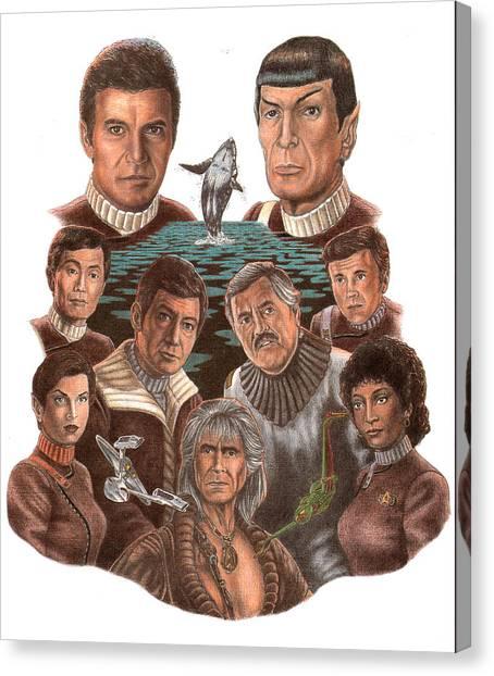 Uhura Canvas Print - Star Trek 25th Anniversary by JWB Art Unlimited