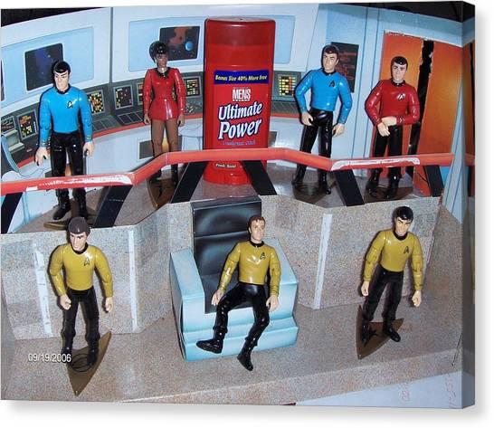 Uhura Canvas Print - Star Trek Toys - Ultimate Power by David Lovins