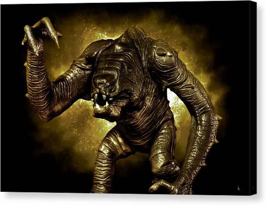 Star Wars Rancor Monster Canvas Print