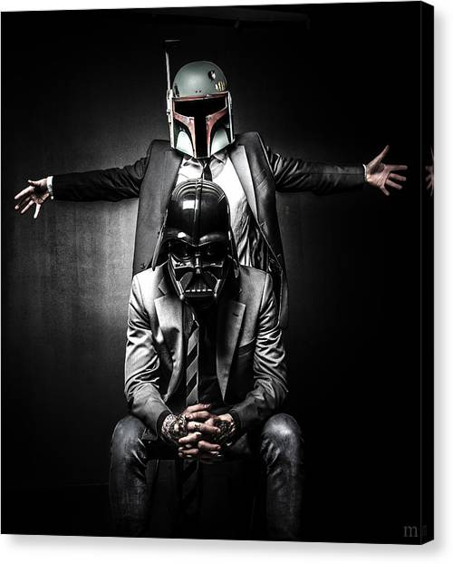 Storms Canvas Print - Star Wars Suit Up by Marino Flovent