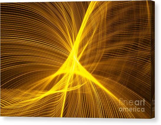 Star Waves 1 Canvas Print