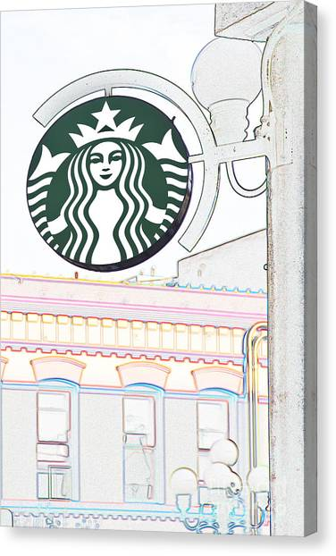 Starbucks Canvas Print