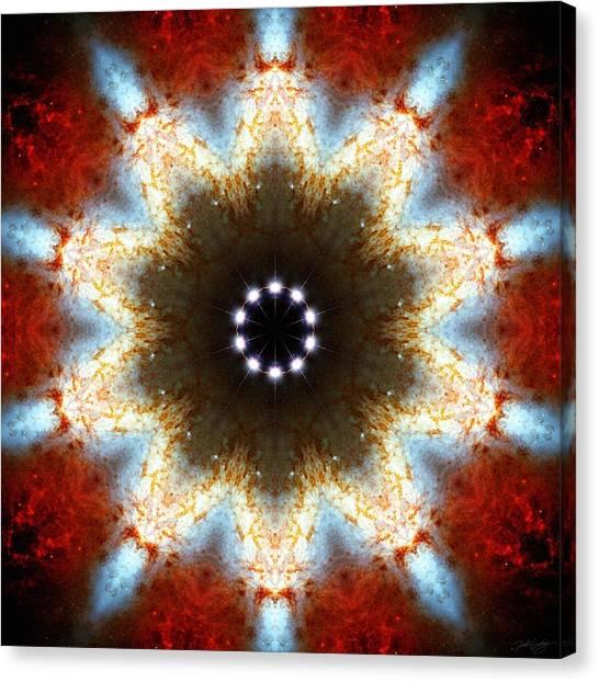 Starburst Galaxy M82 I Canvas Print
