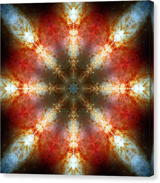 Starburst Galaxy M82 II Canvas Print