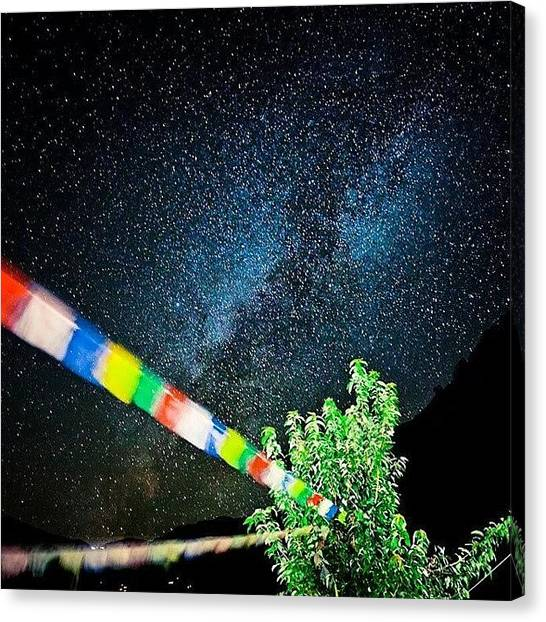 Stars Canvas Print - Stardust by Raimond Klavins