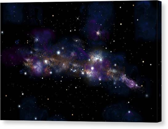 Starfield No.122712 Canvas Print