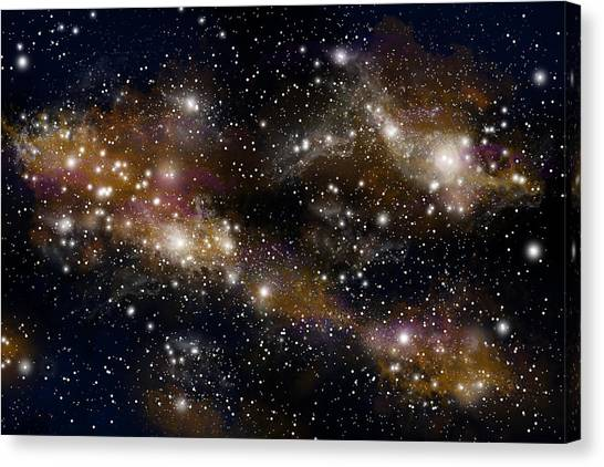 Starfield No.31314 Canvas Print