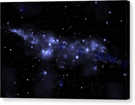 Starfield No.51713 Canvas Print