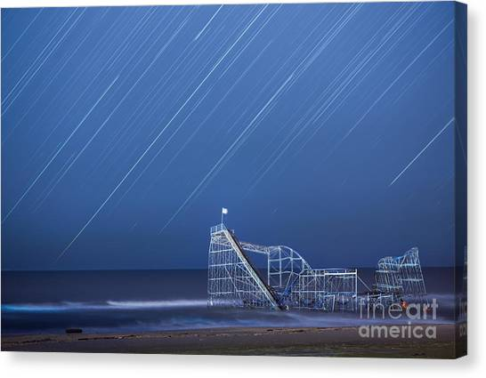 Starjet Under The Stars Canvas Print