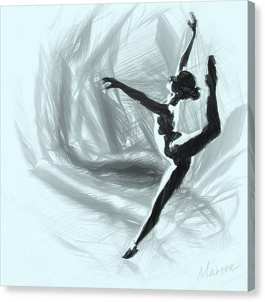 Starlet Canvas Print by Marina Likholat