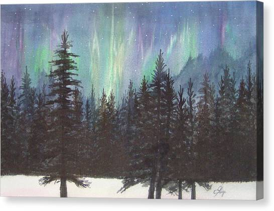 Starlight Dance Canvas Print