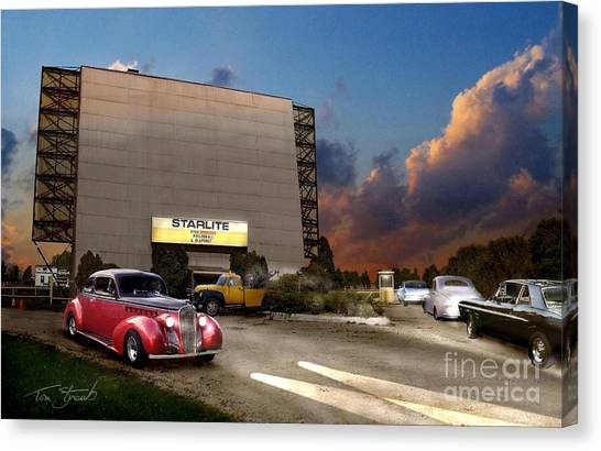 Starlite Canvas Print by Tom Straub