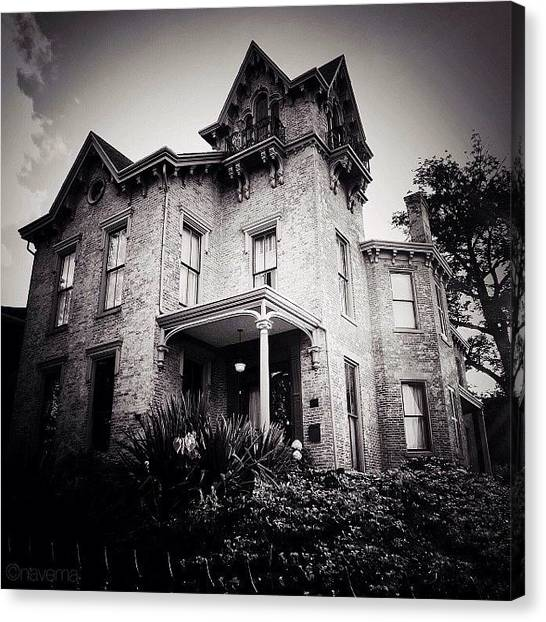 Indiana Canvas Print - Starr-kolp House high Tower Circa by Natasha Marco