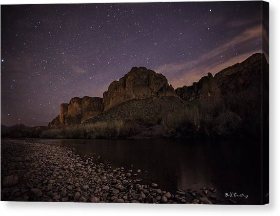 Shooting Stars Canvas Print - Starry Eyed by Bill Cantey