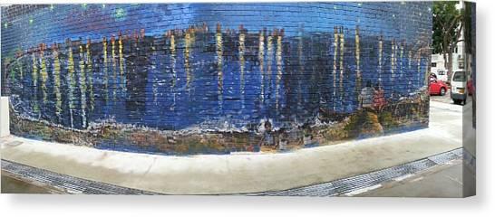 Starry Night Over Macpherson Canvas Print