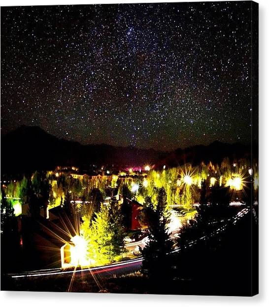 Idaho Canvas Print - Stars & Such #ketchum #idaho #ig_idaho by Cody Haskell