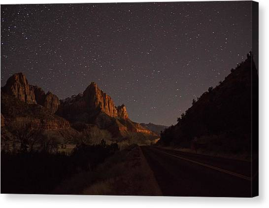 Stars Of Zion Canvas Print