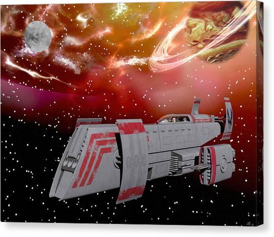 Starship Wonder Canvas Print
