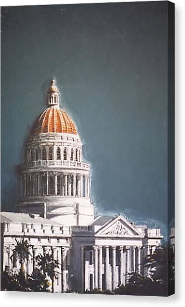State Capitol Canvas Print by Paul Guyer