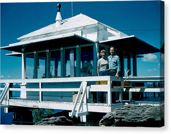 State Line Lookout 1956 Canvas Print by Cumberland Warden