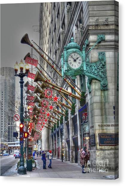 State Street That Great Street Canvas Print by David Bearden