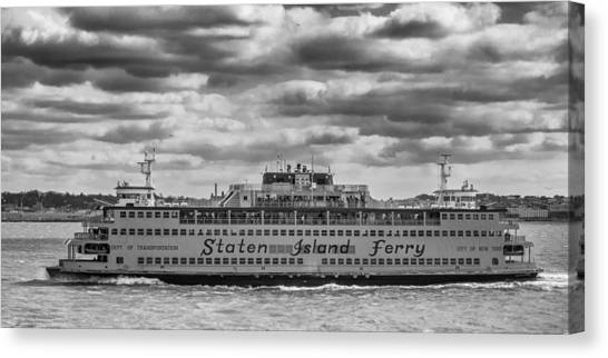 Staten Island Ferry 10484 Canvas Print