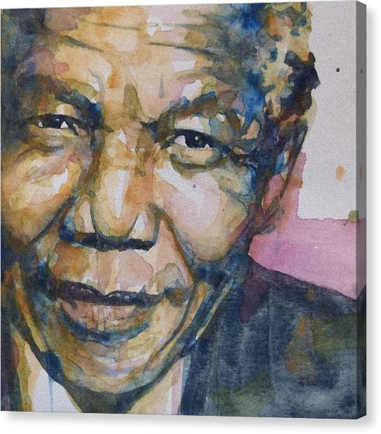 African Canvas Print - Statesman by Paul Lovering