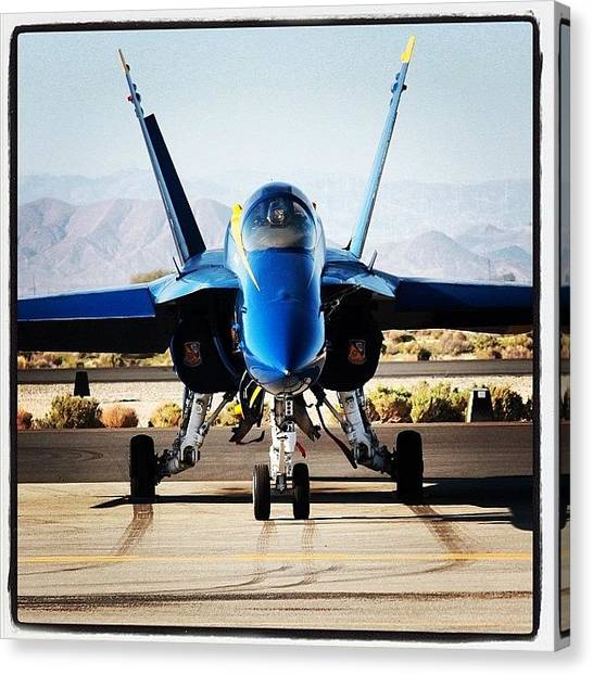 Jets Canvas Print - static Blue Angel #blueangels by Tyler Schuh