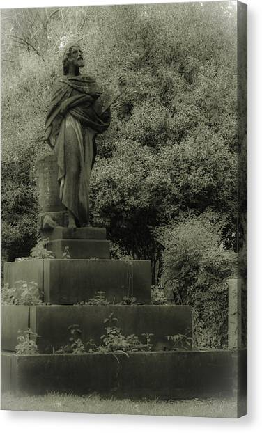 Statue Canvas Print by Jennifer Burley