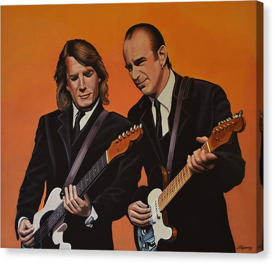 Traffic Canvas Print - Status Quo by Paul Meijering