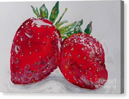 Stawberries Canvas Print
