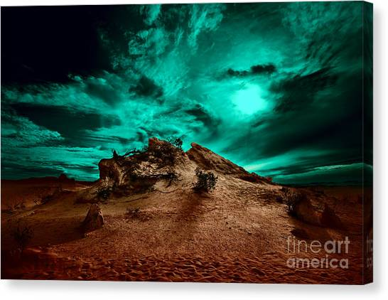 Canvas Print featuring the photograph Stay With Me by Julian Cook