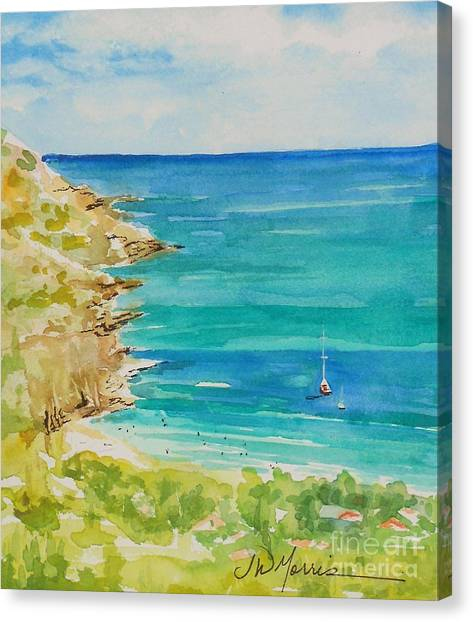 St.barts--the French Island Canvas Print