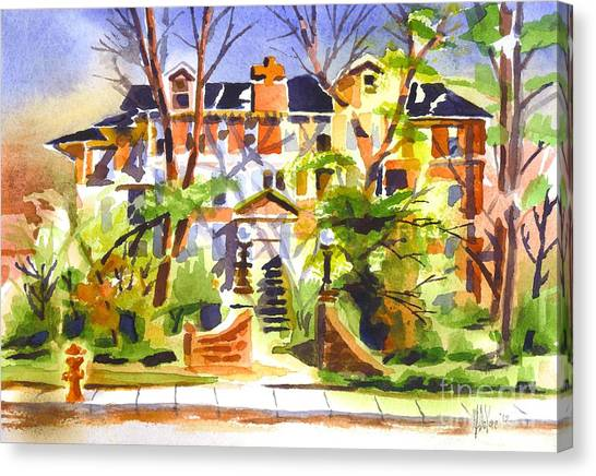 Ste Marys Of The Ozarks Hospital Canvas Print