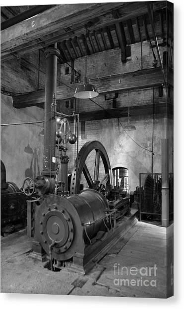 Steam Engine At Locke's Distillery Canvas Print