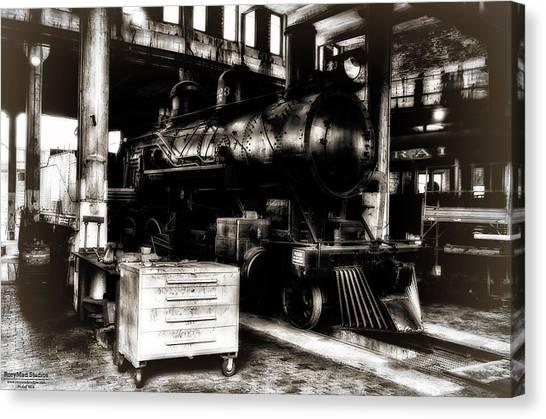 Steam Engine Canvas Print