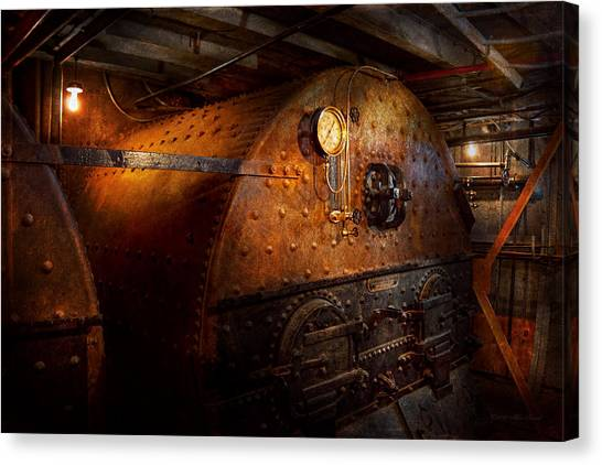 Steampunk - Plumbing - The Home Of A Stoker  Canvas Print