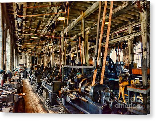 Ward Canvas Print - Steampunk - The Age Of Industry by Paul Ward