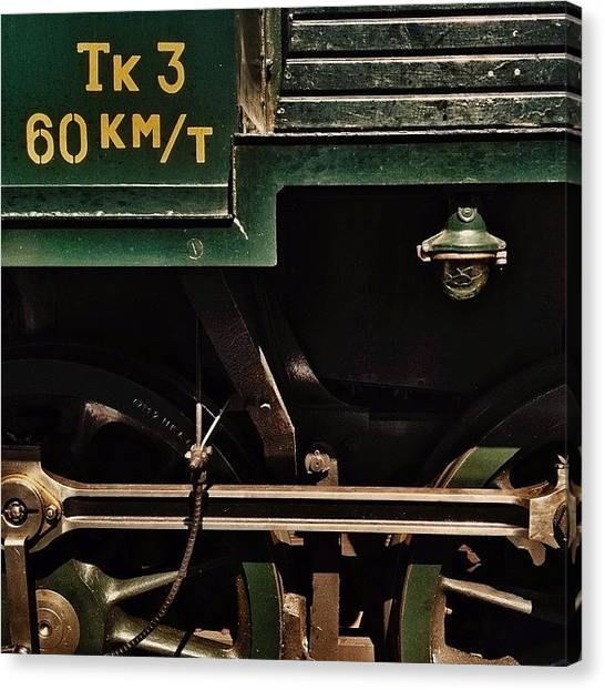 Trainspotting Canvas Print - steamrail 20 Years 1/6  #steamrail by Mikko Lohenoja