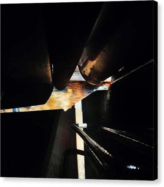 Trainspotting Canvas Print - steamrail 20 Years 3/6  #steamrail by Mikko Lohenoja